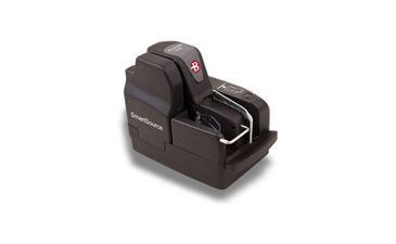 Picture of Burroughs SmartSource Merchant Elite check scanner Check Scanner