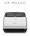Canon DR-M160II Scanner - Canon DRM160II Scanner - Canon Scanners - Canon Duplex Color Scanner